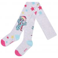 20191055G Dres de fete cu imprimeu My Little Pony, Rainbow Dash, Gri