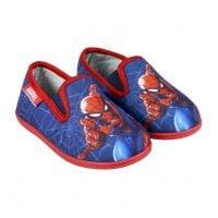 20191532 Papuci de casa cu imprimeu Spiderman, Rosu/Albastru