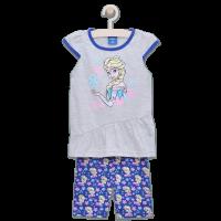 20201002A Set tricou cu maneca scurta si colanti Disney Frozen, Albastru