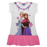 20201004R Rochie cu volane si imprimeu Disney Frozen, Roz