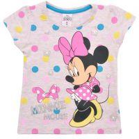 20201011G Tricou cu maneca scurta Disney Minnie Mouse, Gri