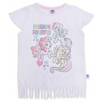20201013A Tricou cu maneca scurta si imprimeu My Little Pony, Alb