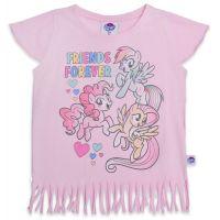 20201013R Tricou cu maneca scurta si imprimeu My Little Pony, Roz
