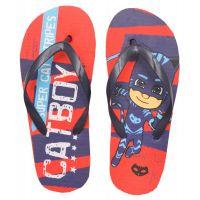 20201019AB Papuci de plaja cu imprimeu Pj Masks, Albastru