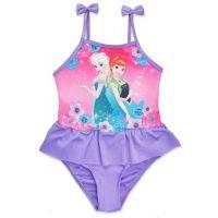 20201023M Costum de baie cu volane Disney Frozen, Mov