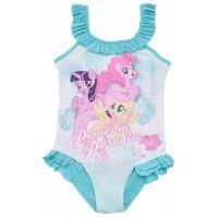 20201025AB Costum de baie cu imprimeu My Little Pony, Albastru