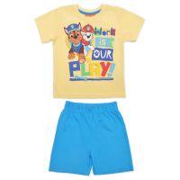 20201038B Pijama cu maneca scurta si imprimeu Paw Patrol, Blue