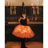 20202004 Fustita cu luminite Halloween, Portocaliu