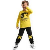 20204108 Set bluza cu maneca lunga si pantaloni sport Denokids 20204108