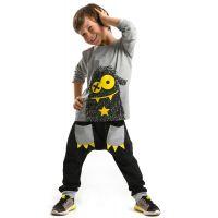 20204113 Set bluza cu maneca lunga si pantaloni sport Denokids 20204113