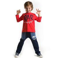 20204114 Set bluza cu maneca lunga si pantaloni sport Denokids 20204114