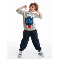 20204132 Set bluza cu maneca lunga si pantaloni sport Denokids 20204132