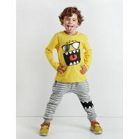 20204151 Set bluza cu maneca lunga si pantaloni sport Denokids 20204151