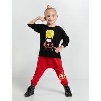 20204152 Set bluza cu maneca lunga si pantaloni sport Denokids 20204152