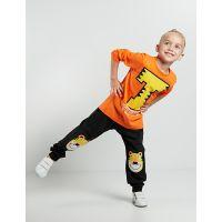 20204153 Set bluza cu maneca lunga si pantaloni sport Denokids 20204153