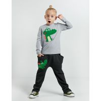 20204155 Set bluza cu maneca lunga si pantaloni sport Denokids 20204155