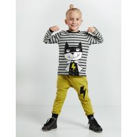 20204159 Set bluza cu maneca lunga si pantaloni sport Denokids 20204159