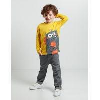 20204167 Set bluza cu maneca lunga si pantaloni jeans Denokids 20204167