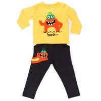 Set bluza cu maneca lunga si pantaloni sport Denokids 20204172-104 cm (4 ani)