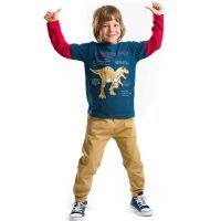 20204185 Set bluza cu maneca lunga si pantaloni sport Denokids 20204185