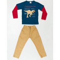 Set bluza cu maneca lunga si pantaloni sport Denokids 20204185-104 cm (4 ani)
