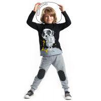 20204186 Set bluza cu maneca lunga si pantaloni sport Denokids 20204186
