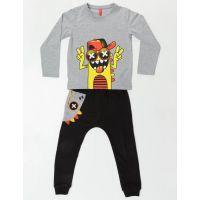 Set bluza cu maneca lunga si pantaloni sport Mushi 20204188-98 cm (3 ani)