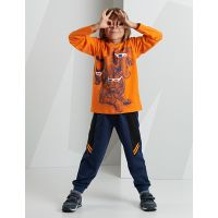20204202 Set bluza cu maneca lunga si pantaloni sport Mushi 20204202