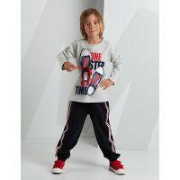 20204204 Set bluza cu maneca lunga si pantaloni sport Mushi 20204204
