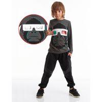 20204212 Set bluza cu maneca lunga si pantaloni sport Mushi 20204212