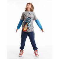 20204213 Set bluza cu maneca lunga si pantaloni sport Mushi 20204213