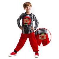 20204600 Set bluza si pantaloni Denokids Reindeer Christmas 20204600