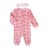 20211053 Set salopeta bebe si caciula Minoti Capsule