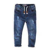 20211142 Pantaloni jeans cu banda elastica si snur Minoti Samui