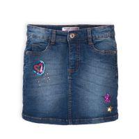 20211234 Fusta jeans cu paiete Minoti Skittles