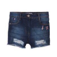 20211257 Pantaloni scurti tip jeans Minoti Neon