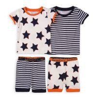 Set pijama cu maneca scurta Minoti TB Pyj 20211375-80-86 cm (12-18 luni)