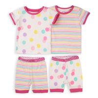 Set pijama cu maneca scurta si pantaloni scurti Minoti Tg Pyj 20211377-98-104 cm (3-4 ani)