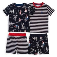 Set pijama cu maneca scurta Minoti KB Pyj 20211380-128-134 cm (8-9 ani)