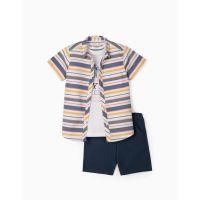 Set camasa, tricou si pantaloni scurti Zippy, Egypt-95-103 cm (3-4 ani) Z