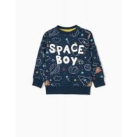 20211586 Bluza cu maneca lunga si imprimeu Zippy Space Boy 7229973