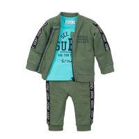 20211983 Set cardigan, tricou si pantaloni Dirkje Surf E38509-31