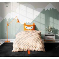 20212101_001w Set 3 piese lenjerie pat copii Viada Fox, 150 x 200 cm