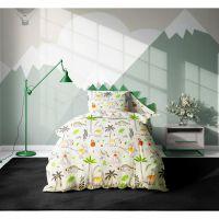 20212104_001w Set 3 piese lenjerie pat copii Viada Dino, 150 x 200 cm