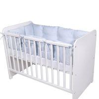 2083007 0004_001 Set Protectii Laterale pentru pat 4 Piese Lorelli, Blue