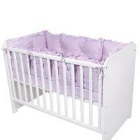 2083007 0006_001 Set Protectii Laterale pentru pat 4 Piese Lorelli, Violet