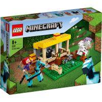LG21171_001w LEGO® Minecraft - Grajdul pentru cai (21171)