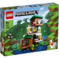 LG21174_001w LEGO® Minecraft - Casuta din copac (21174)