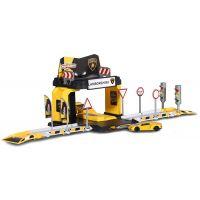 212050024_001 Set garaj de lucru cu masinute Majorette Creatix Lamborghini showroom