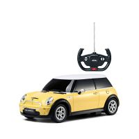 21800_2018_002 Masina cu telecomanda Rastar Mini Cooper S, 1:14, Galben